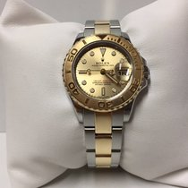 Rolex Yacht Master  169623 Oro Acero Champagne Dial