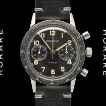 Dodane Type 21, Mark II, French Military Chronograph Valjoux 222