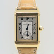 Jaeger-LeCoultre Reverso Duetto 18k Yellow Gold Factory Diamonds