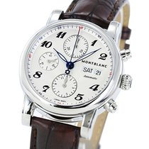 Montblanc Star Chronograph Automatic 106466 Men's Brown...