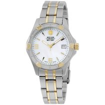 Wenger Mop Dial Two Tone Stainless Steel Ladies Watch 79093