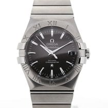 Omega Constellation Co-Axial Grey 35