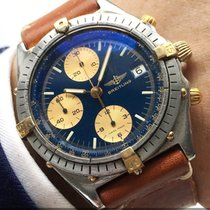 Breitling Serviced Breitling Chronomat Automatic with blue...