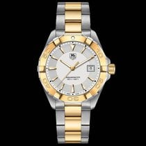 TAG Heuer Aquaracer Silver Dial Steel Case Data WAY1120BB0930