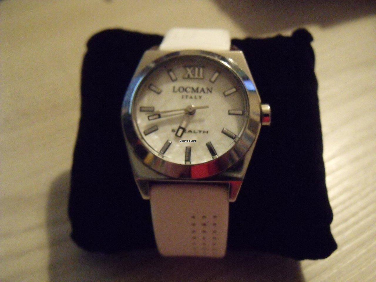 Locman Stealth Donna Solo Tempo 020400MWFNK0SIW eladó 42 130 Ft Magáneladó  státuszú eladótól a Chrono24-en a6e69aad1e