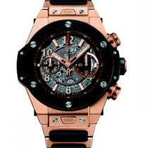 Hublot Big Bang Unico King Gold Ceramic Bracelet 45mm