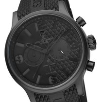 Jacques Lemans SPORTS Porto Chronograph XL black/black Seiko...