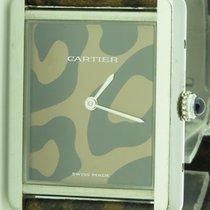 Cartier Tank Solo Ref. 3169 Leopard Boutique Model Rare Ladies...