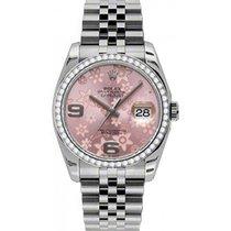 롤렉스 (Rolex) Datejust 36 116244-PNKADJ Pink Floral Arabic...
