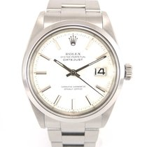 Rolex Datejust 1600 white patina dial