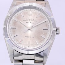Rolex Airking Automatic Unisex silver dial U-Serie Oyster Top...
