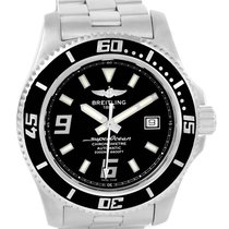 Breitling Aeromarine Superocean 44 Steel Mens Watch A17391...