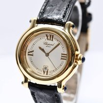 Chopard Happy Sport Gold Damen Uhr mit Box 27/6144-23