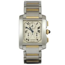 Cartier Tank Francaise Chronoflex Gold/Steel 2303 2017 Full...