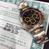 Rolex Daytona oro acciaio DOPPIO QUADRANTE