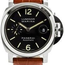 파네라이 (Panerai) Luminor Marina Black Dial Automatic Swiss Men...