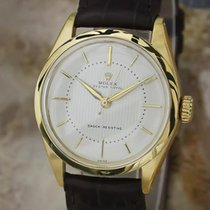 Rolex 6444 Royal Oyster 1956 Mid Size 32mm Manual Gold Plated...