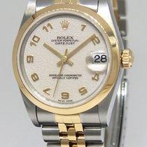 Rolex Datejust 18k Yellow Gold/Steel Jubilee Dial Ladies...