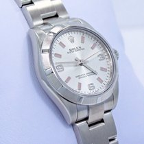 Rolex Oyster Perpetual 177210 Midsize 31mm New Style Silver...