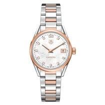 TAG Heuer Carrera 32mm Date Quartz Ladies Watch Ref WAR1352.BD...