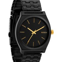 Nixon Time Teller A045-1041 Matte Black Gold Unisexuhr