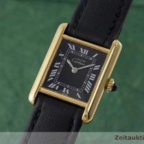 Cartier Lady Must De Tank Handaufzug Elegante Damenuhr Karrée