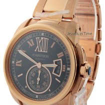 Cartier Calibre 3300 18k Rose Gold Mens Watch Box/Papers...