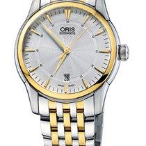 Oris Artelier Date Gold Plated Steel Bracelet