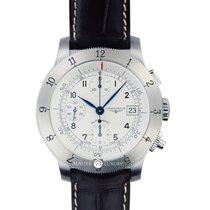 浪琴 (Longines) L27414732 Heritage Chronograph Steel White Dial...