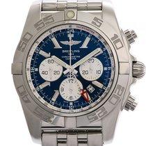 Breitling Chronomat GMT Stahl Automatik Chronograph 47 mm