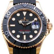 Rolex Yacht-Master 40 Rose Gold 116655 Everose 18k Black...