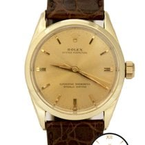 Rolex Oyster Perpetual Automatic 14K Gold Capped Circa 1950s...