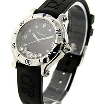 Chopard 28/8347/8 Happy Fish in Steel with Floating Diamonds -...
