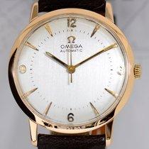 Omega 18K Roségold Vintage Dresswatch Gold Automatik arabic