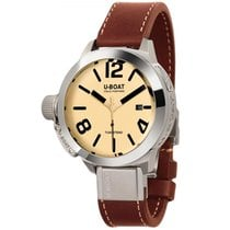 U-Boat Classico 45 Tungsten AS2 Cream