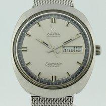 Omega Seamaster Cosmic Quartz Steel 166035