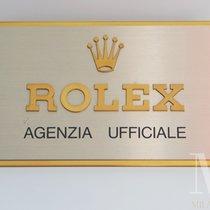Rolex AGENZIA UFFICIALE targa display espositore stand