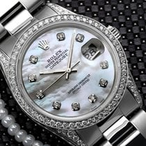 Rolex Women's 36mm Rolex S/s Oyster Perpetual Datejust...