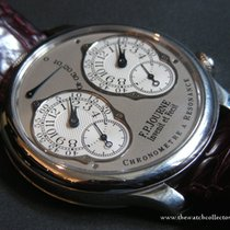F.P.Journe : Chronomètre Platinum Double Resonance 40 mm...