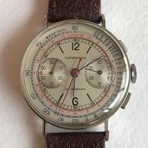 Longines 13ZN STEEL rare vintage chronograph
