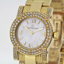 Carl F. Bucherer Pathos Diva 18K Gold Diamonds MoP Dial