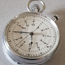 37 Nero - Lemania - large military observation watch -...