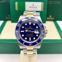 Rolex Submariner 116613LB 18k gold & Steel Blue Dial 2017