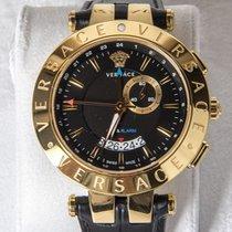 Versace – Modello V-Race 29G70D0095009 – GMT – Alarm –...