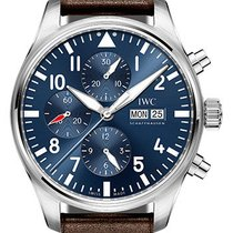 IWC Pilot Chronograph Blue Dial IW377714 Like New