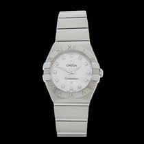 Omega Constellation Stainless Steel Ladies 123.10.27.60.55.001...