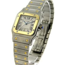 Cartier W20011C4 Santos Galbee in 2 -Toned - on Steel and...