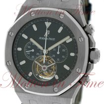Audemars Piguet Royal Oak Tourbillon Chronograph, Black Dial -...
