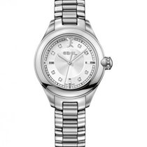 Ebel Onde Steel, Mother of Pearl Dial With Diamonds