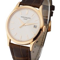 Patek Philippe 5296R-010 Calatrava Ref 5296R in Rose Gold - on...